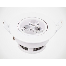 Spot encastrable 3 W - 230V - IP 44 Orientable