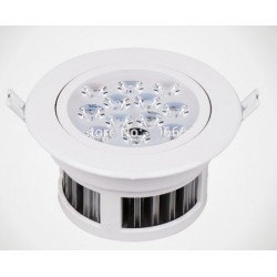 Spot encastrable 12 W - 230V - IP 44 Orientable