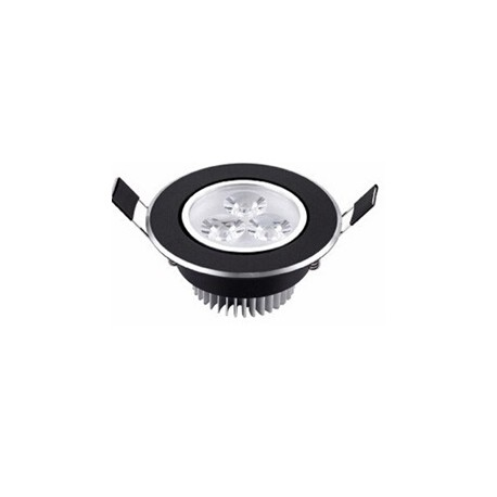 Spot encastrable 3 W NOIR- 230V - IP 44 Orientable