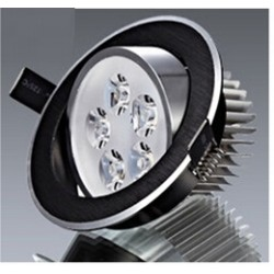 Spot encastrable 5 W NOIR - 230V - IP 44 Orientable