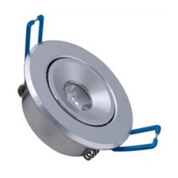 Spot encastrable 1 W %INI  230V - IP 44 Orientable - Type 1