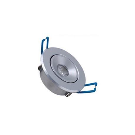 Spot encastrable 1 W %INI  230V - IP 44 Orientable - Type 1