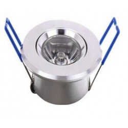 Spot encastrable 1 W MINI  230V - IP 44 Orientable - Type 2