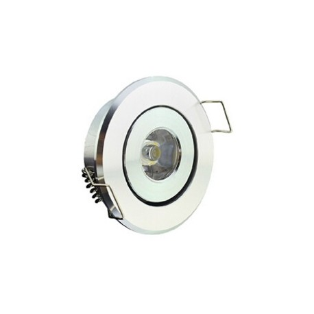 Spot encastrable 1 W MINI  230V - IP 44 Orientable - Type 3
