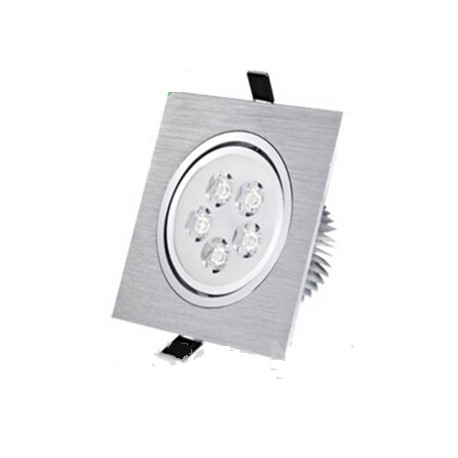 Spot encastrable 5 W Carré - 230V - IP 44 Orientable