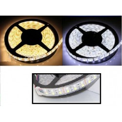 BANDEAU LED  5 m - 144 W - DUAL WHITE (Blanc chaud à Blanc froid) - 120 LED/m