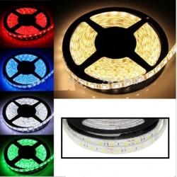 BANDEAU LED 5m - 72 W - RGBW (Multicouleurs + Blanc) - 60 LED/m