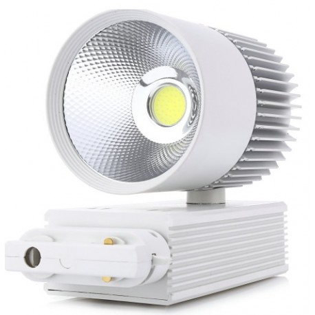 SPOT RAIL LED COB - 30 W - Blanc