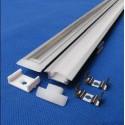 PROFILÉ PLAT aluminum - 17.5*7.57 mm à encastrer