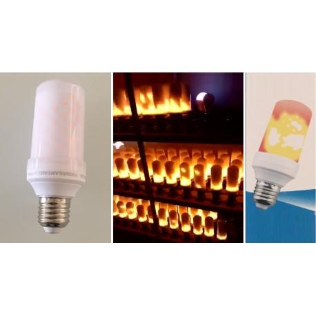 Ampoule LED FILAMENT 5 W E27 - 1300K - EFFET FLAMMES