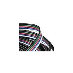 Câble 5 fils pour bandeau led RGBW - en mètre