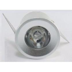 Mini spot Encastrable - 3 W Silver