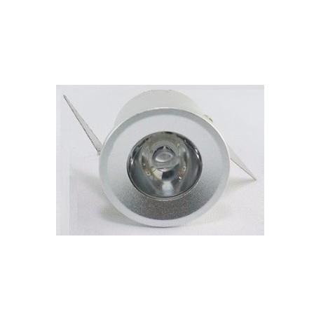 Mini spot Encastrable - 1 W - Blancs - Couleurs