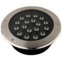 Encastrable de sol fixe - 18 W - IP67 - Blancs - Couleurs - RGB