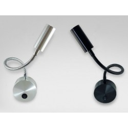Spot lecture LED FLEXIBLE WALL MOUNTED - 3 W - 230V