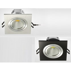 Spot encastrable Single 7 W COB - 230V - Orientable