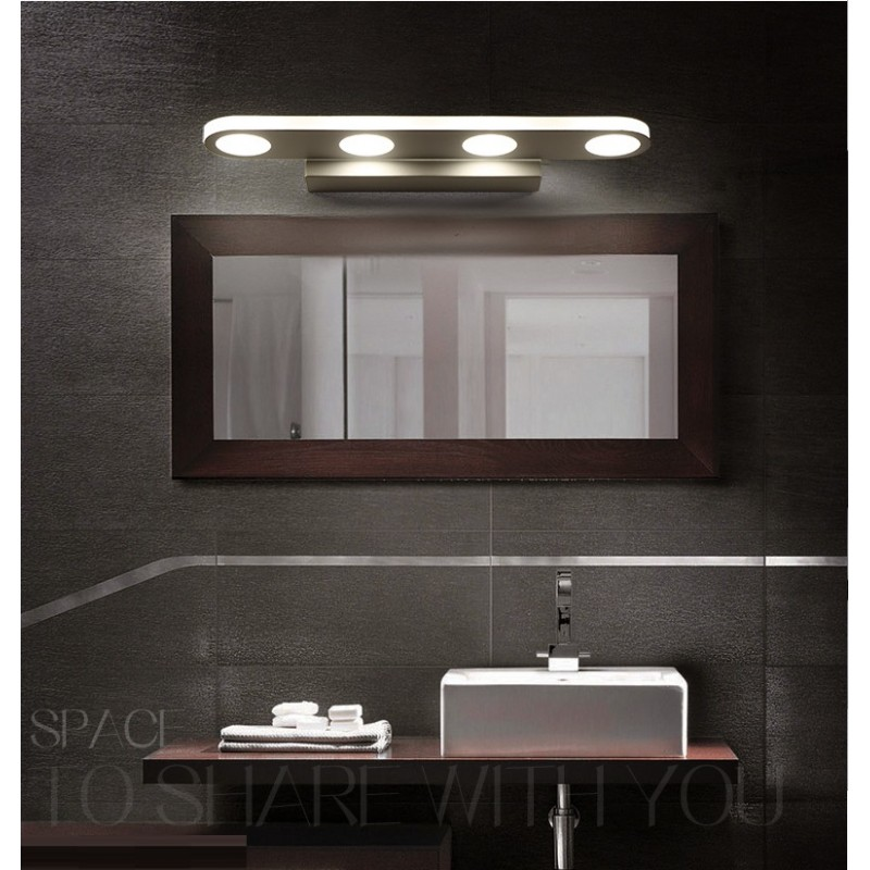 lampe dessus miroir salle de bain design de maison. Black Bedroom Furniture Sets. Home Design Ideas