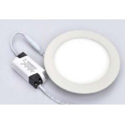 Petite Dalle LED Ronde 12W - 230V - Ultraplate
