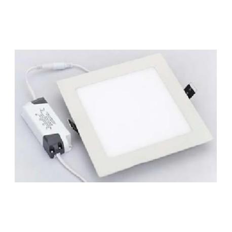Petite Dalle LED Carrée 12W - 230V - Ultraplate