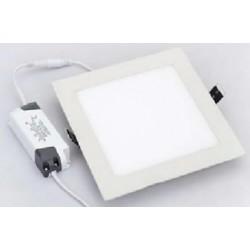 Petite Dalle LED Carrée 15 W - 230V - Ultraplate