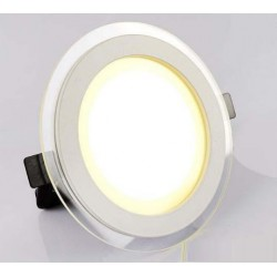 Spot LED 18W encastrable rond plat - 230V