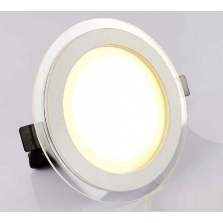Spot LED 18W encastrable rond plat - 230V