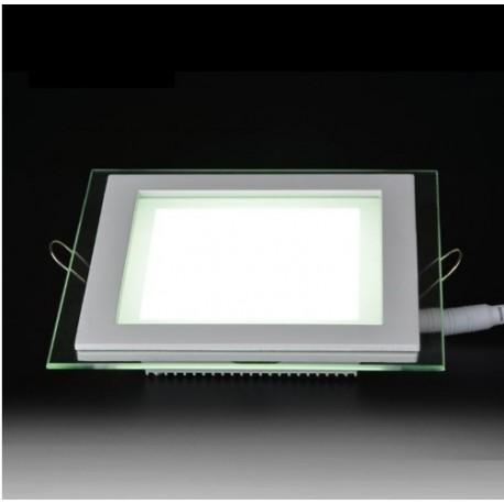 Spot LED 18W encastrable carré plat - 230V