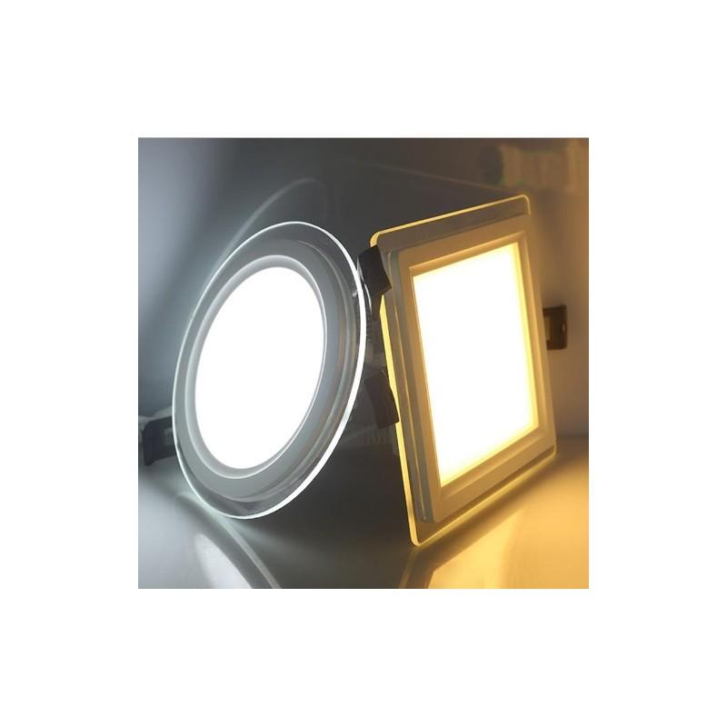 Spot led 18w encastrable rond plat for Spot encastrable led interieur