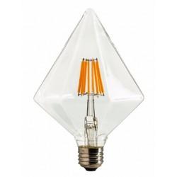 Ampoule LED DIAMANT FILAMENT 6W E27 - 2200K