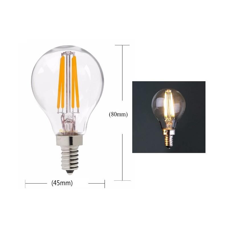 ampoule led filament e14 eglo ampoule a led e w filament vintage flamme c lcm k lumire with. Black Bedroom Furniture Sets. Home Design Ideas