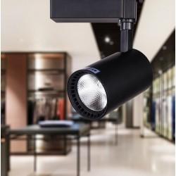 SPOT RAIL LED - 30 W - Noir