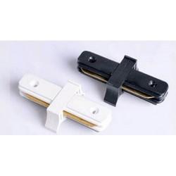 RACCORD DROIT POUR RAIL UNIVERSEL SPOT LED - Blanc ou Noir