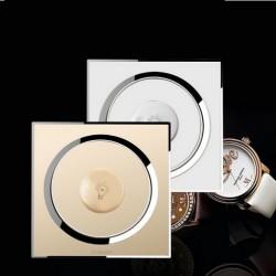 Interrupteur Variateur Cristal mur luxe  - Champagne Or Blanc ou Jaune - Modèle fashion - 2 voies