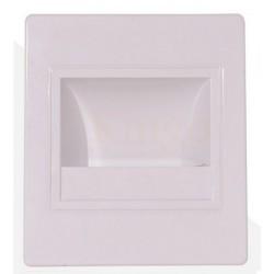 APPLIQUE MURALE LED ESCALIER 1,5 W WHITE - 150 lumen -  à encastrer