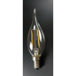 AMPOULE LED FLAMME E14  FILAMENTS - 4W