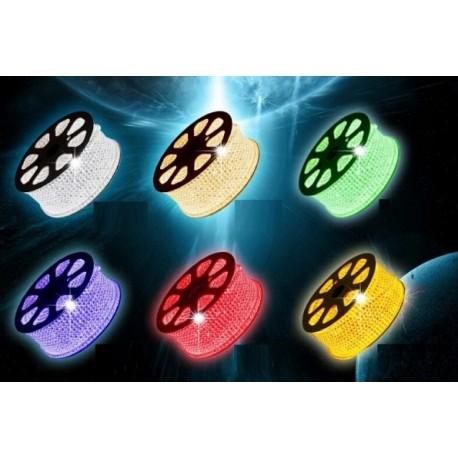 BANDEAU LED 50 m - 230V RGB SMD5050, 60 LED/m
